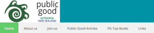Public Good – a Website to get people thinking