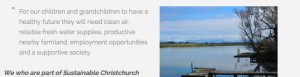 Sustainable Otautahi Christchurch
